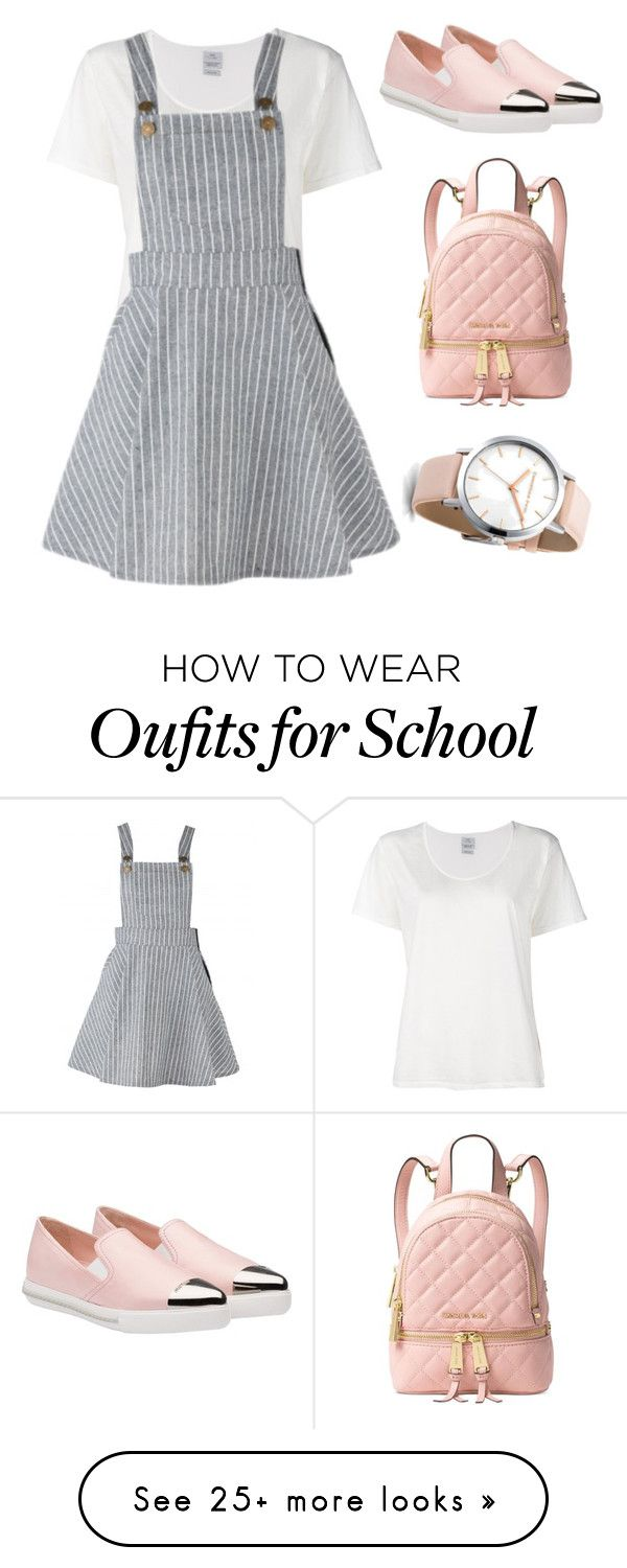 """""""Back to school"""" by potterqueen on Polyvore featuring Visvim, Miu Miu and Michael Kors"""