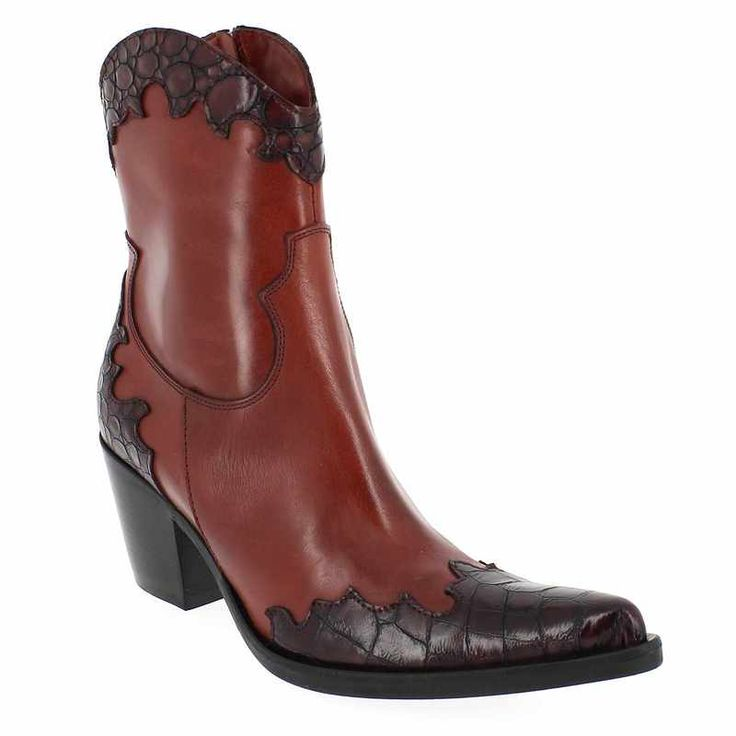Chaussure Donna Piu 08356 ENEA COTE Rouge 4207802 pour Femme | JEF Chaussures