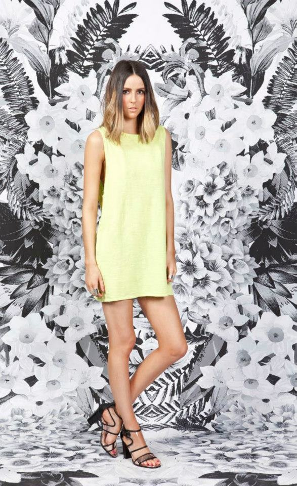 Delayed Devotion Dress, Lime