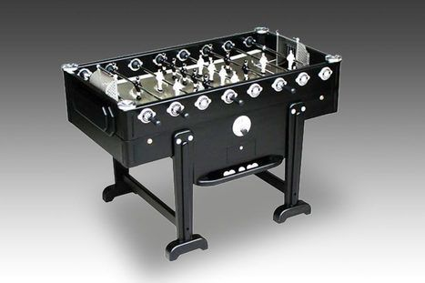 Black Match certainly makes a statement in terms of design and style. https://gameroomequipment.uk #FoosballTable