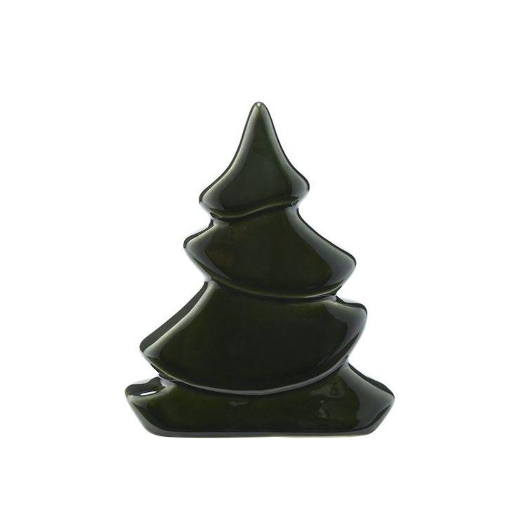 Et af de mest klassiske symboler på jul er juletræet. De små træer er lavet i porcelæn og afsluttet med en smuk grøn glasur. Lav dit eget eventyr med Fairy trees og byg en hel skov med træer i forskellige størrelser.