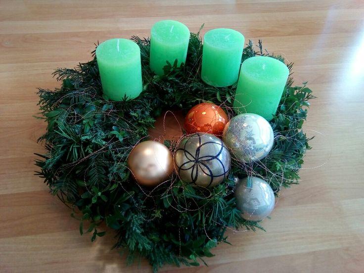 Adventskranz für die Kinder, DIY, selber machen, Gartengrün, Bolsius, Kerzen, Erhard-Trading,