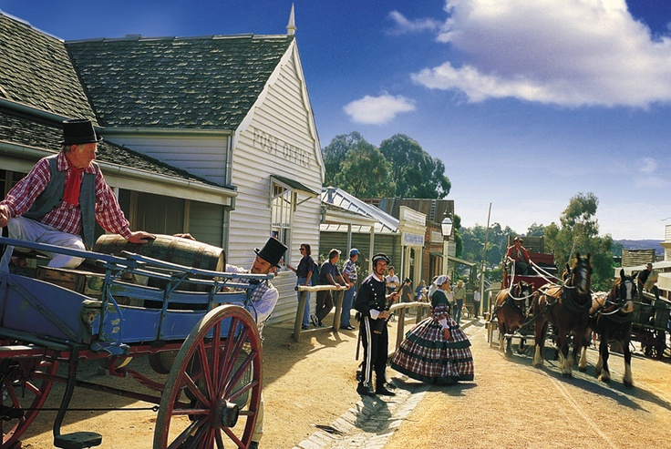 Visit Sovereign Hill and see Blood on the Southern Cross in the Ballarat stop of your Great Southern Touring Route journey