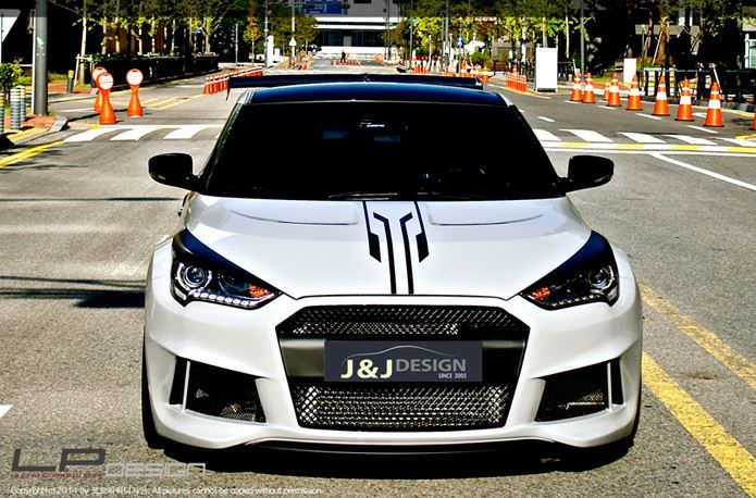 Hyundai Veloster Turbo W A Wide Body Auto Crazed