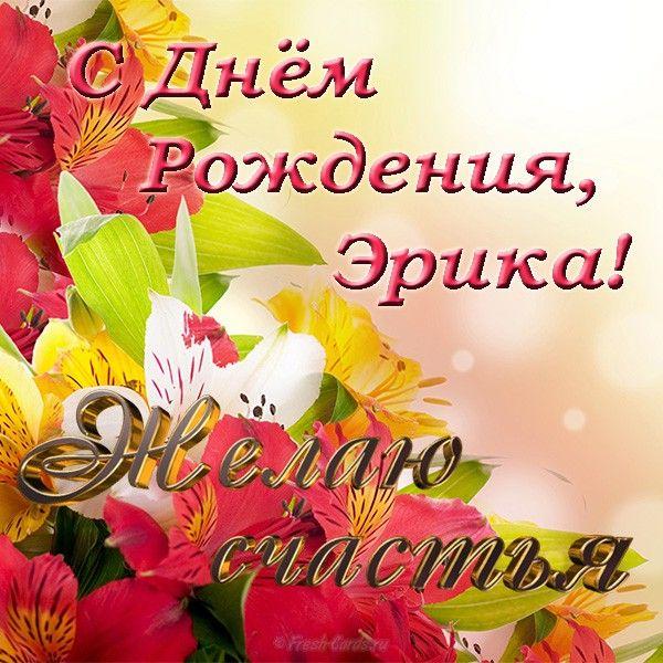 Otkrytka S Dnem Rozhdeniya Erika Cards Book Cover Image
