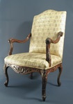 Regency style furniture such as is seen in the Rousseau household in Montreal