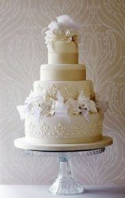 Little Venice Cake Company | Gallery | Wedding Cakes | Iced | 02 Firenze White