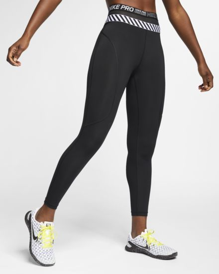 f51abb8d379343 Nike Women's 7/8 Length Tights Pro HyperCool in 2019 | Bottoms Up ...