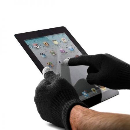 Gants noir pour écran tactile : Profitez pleinement de votre Smartphone même en plein froid !