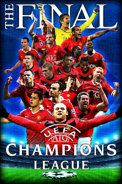 Manchester United Champions League by tomoakin, via Flickr
