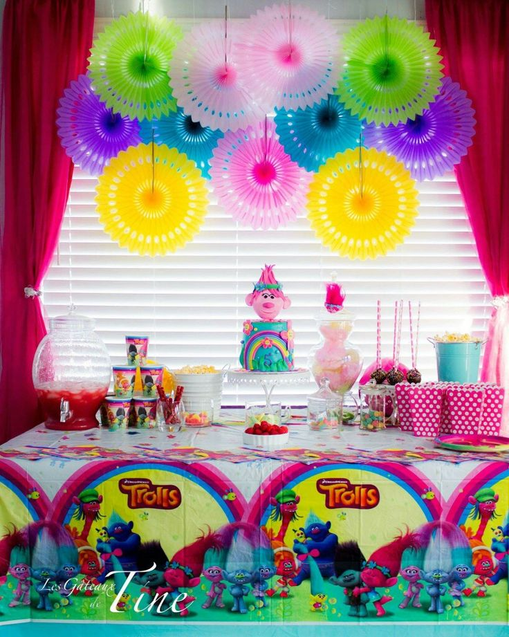 33 best images about trolls birthday party ideas on for Decoration goods
