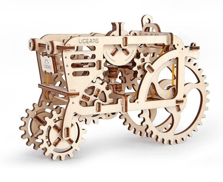 Ugears 3D mechanické puzzle Traktor