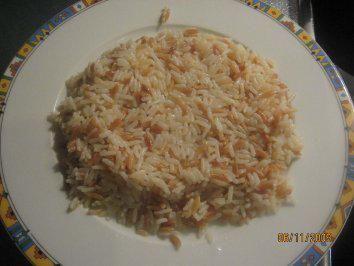 Reisnudel-Pilaw (Reis verfeinert mit Nudeln, Türkischer Reis) - Rezept