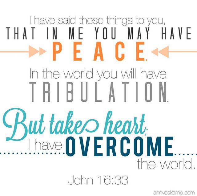 John 16.33 memory verse Ann Voskamp Jesus Project 2014
