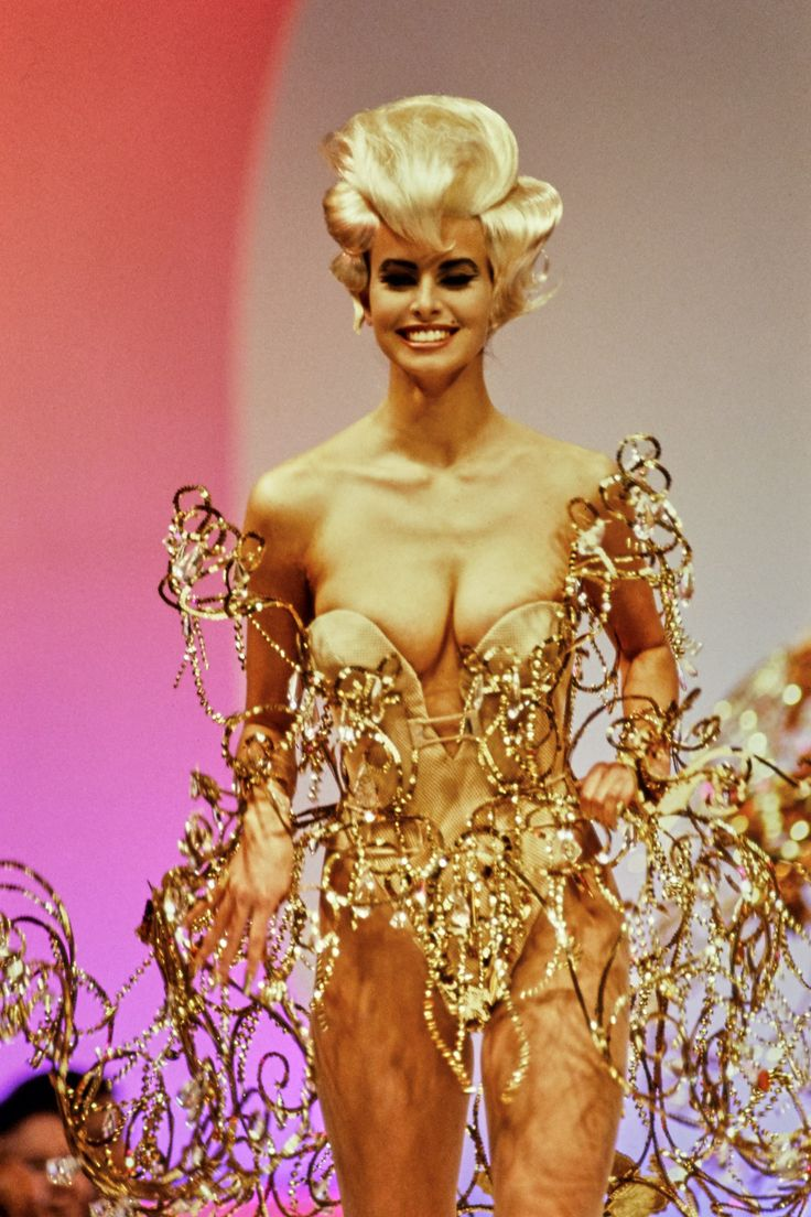Mugler Spring 1992 Ready-to-Wear Fashion Show Details