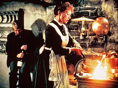 Babette's Feast.  I loved these cooking scenes.