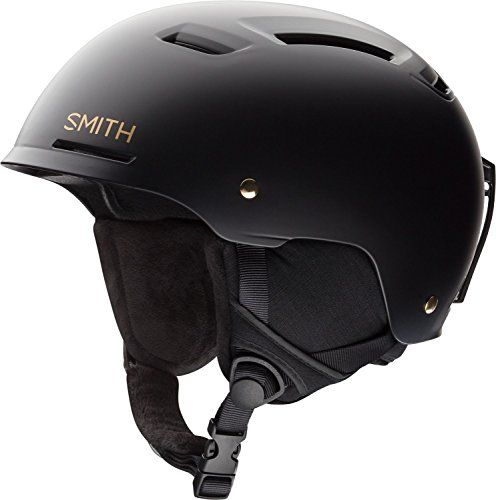 Smith Optics Pointe-Mips Adult Ski Snowmobile Helmet - Matte Black / Gold / Small >>> Check out this great product.