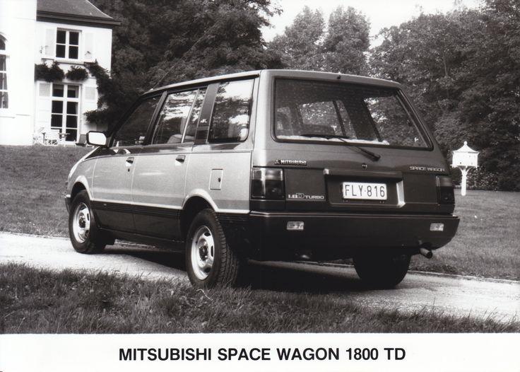 Mitsubishi Space Wagon 1800 TD (Salon, Brussel, 1-1986)