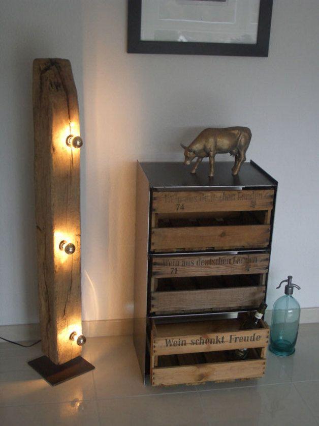 Sideboards - Weinregal Regal Weinkisten Schrank Weinschrank NEU - ein Designerstück von Past-Collection bei DaWanda