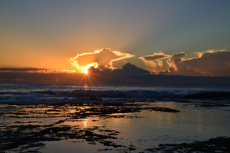 Awesome sunrise at Mona Vale