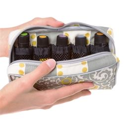 Stylish Essential Oil Carrying Case. For more info or to order oils, visit: http://www.mydoterra.com/aprillloyd I'm happy to answer any questions! #doterra #essentialoils
