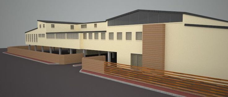 3D drawing for YMCA Athlone