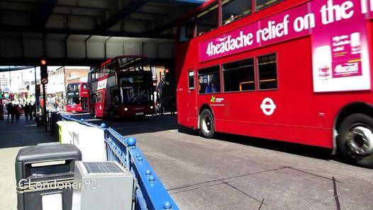 Buses at Romford Station Filmed on 19th April 2016