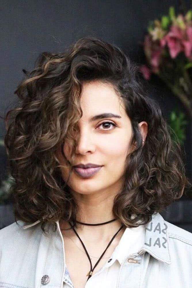 2019 2020 Short Curly Bob Hair For Crazy Girls With Thick Hair