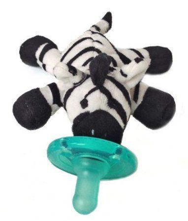 Amazon.com: Wubbanub Infant Plush Toy Pacifier (Zebra): Baby