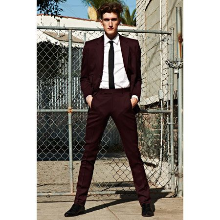 I like the idea of sharp suits for the  Gods - something like this for Zeus, but in a dark gray