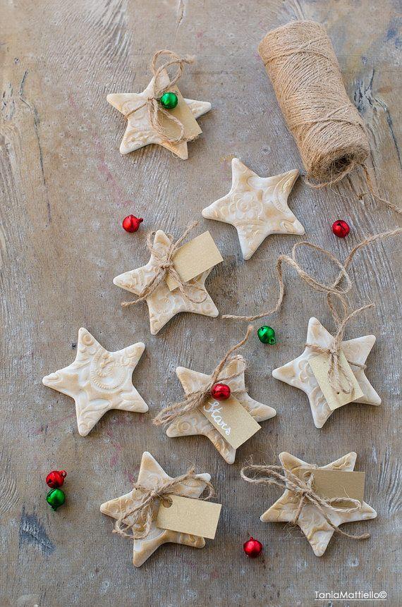 78 migliori idee su segnaposto natale su pinterest - Decorazioni natalizie fatte a mano per bambini ...