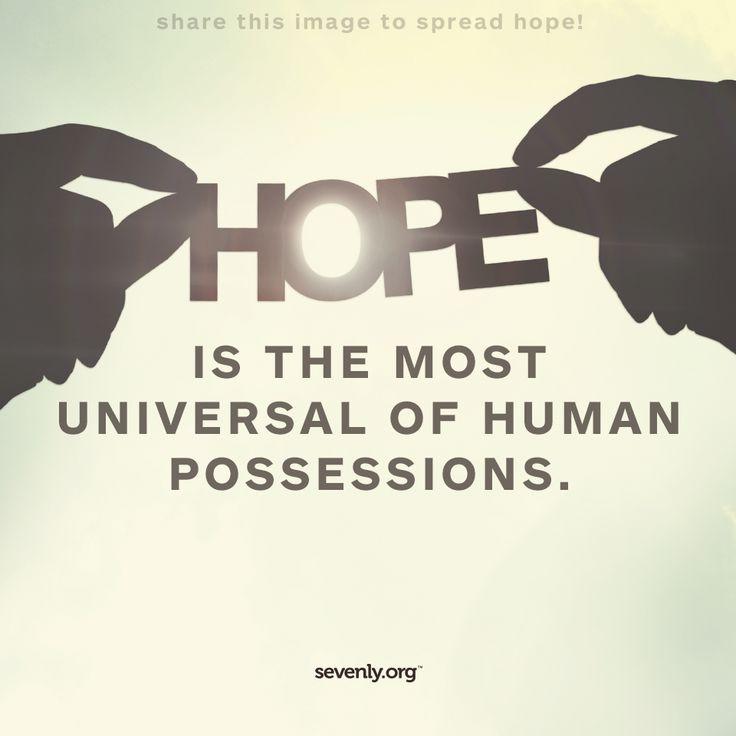 REPIN to spread HOPE!