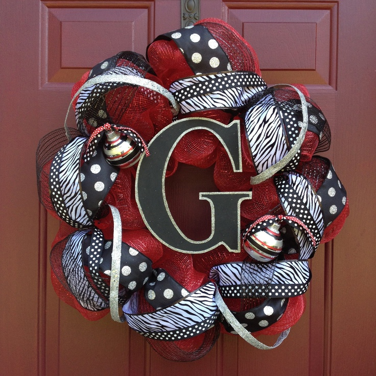 I Could Totally Make This: Best 25+ Georgia Wreaths Ideas On Pinterest