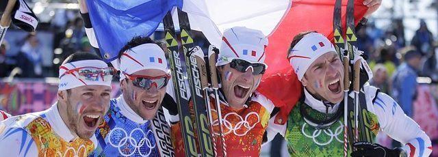 Le ski de fond français, après avoir longtemps attendu, a vécu la plus belle course de son histoire, avec la médaille de bronze du 4x10 km messieurs. Au bout de l'effort, la 100e médaille bleue aux JO d'hiver.