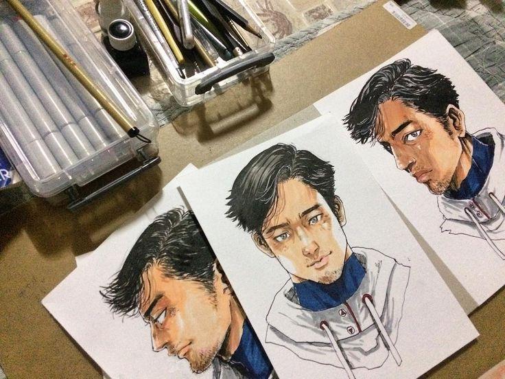 มาแล้วว #marzipanz #portrait #characterdesign #character #design #TheLeaper #comics #CFactory