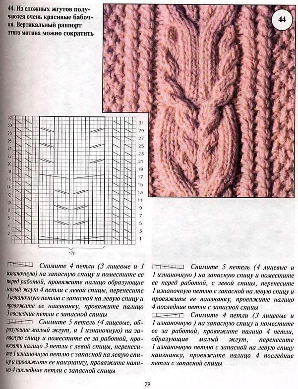 Ирландское вязание (жгуты,косы,шишечки) В. Я. Радзиевская - Ирландское вязание. Для тех, кто любит вязать_59