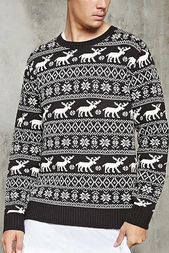 Fair Isle Sweater | 21 MEN - 2000214735
