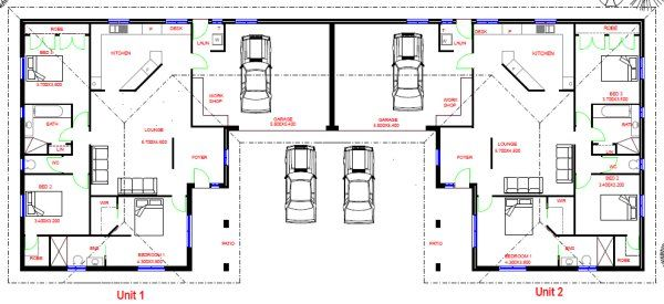 1000 Images About Dual On Pinterest House Plans Home