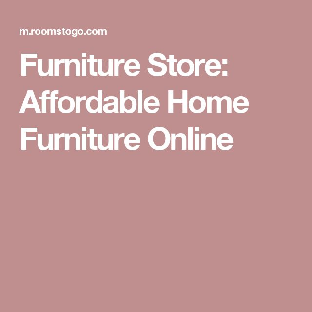 Furniture Store: Affordable Home Furniture Online