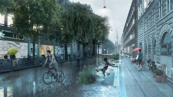 SLA_Korsgade-_Rain « Landscape Architecture Works | Landezine