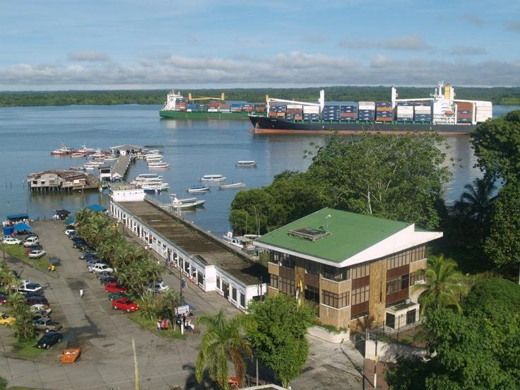 Puerto de Buenaventura. Colombia