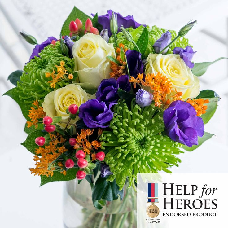 Garden Spirit: Help raise funds for our forces Heroes with this beautiful Garden Spirit bouquet - a beautiful collection of blooms that's sure to delight.