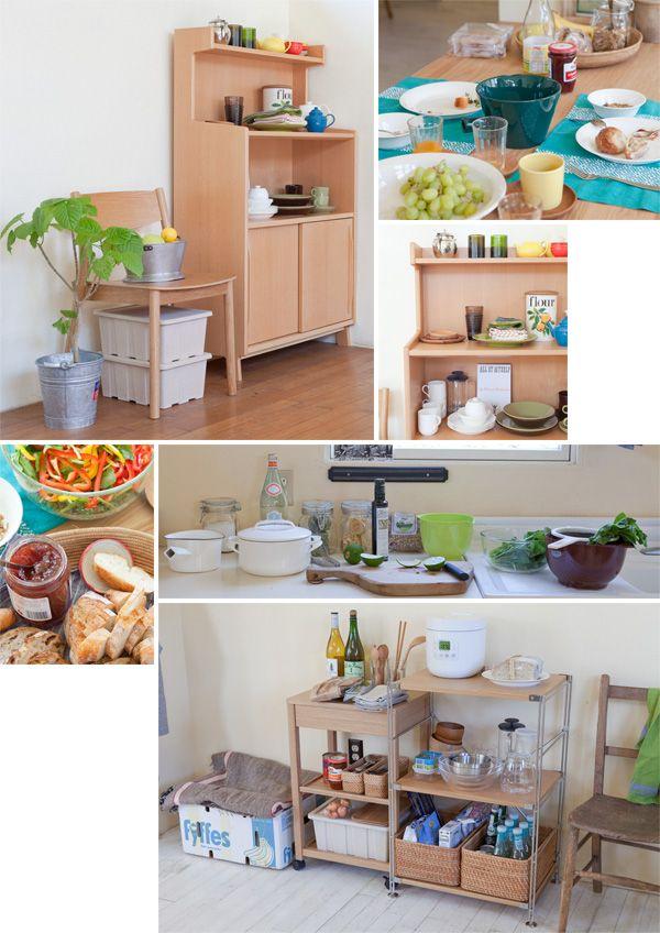 キッチンがまんなか|MUJI meets IDEE ふたりのはじまり|無印良品