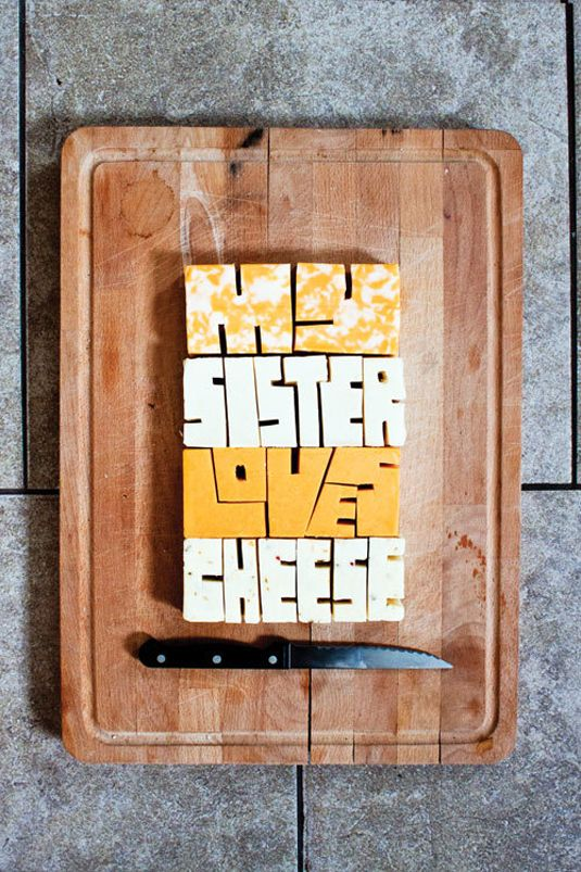 Creative Experimental Typography Inspired By Play, Encourages You To Get Messy - DesignTAXI.com