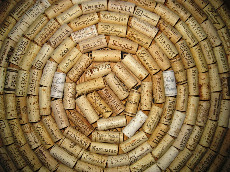 Wine Corks #photography #wine #corks #circle