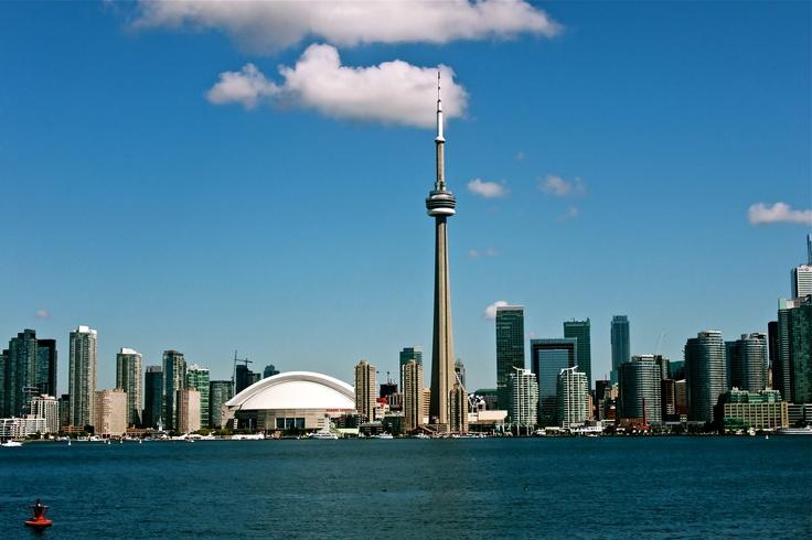 Downtown Toronto...