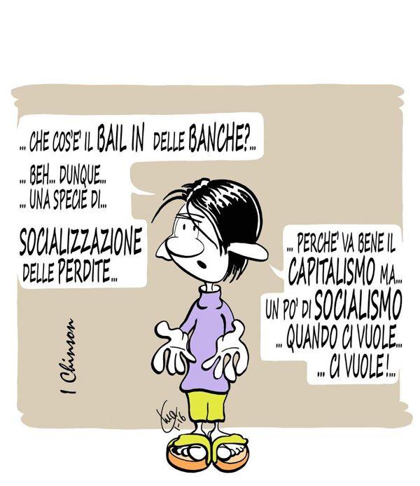 """Il Banchiere """"Socialista""""... Nuovi posti di lavoro a Quarto... #IoSeguoItalianComics #Satira #Politica"""