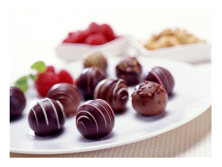 как приготовить шоколадные конфеты