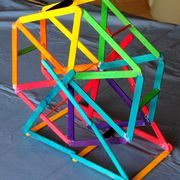 Popsicle Stick Ferris Wheel