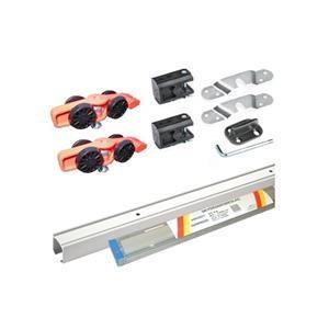 Svalk RollLock kompl. sæt m/2 m. skinne & beslag til 63-120 cm. dør. maks 60 kg. DKK 575,00